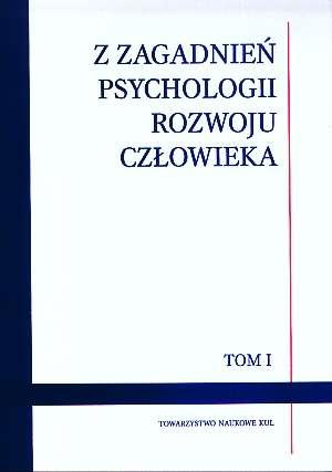 Z zagadnień psychologii rozwoju - okładka książki