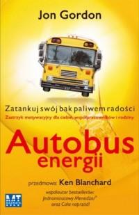 Autobus energii - Jon Gordon - okładka książki
