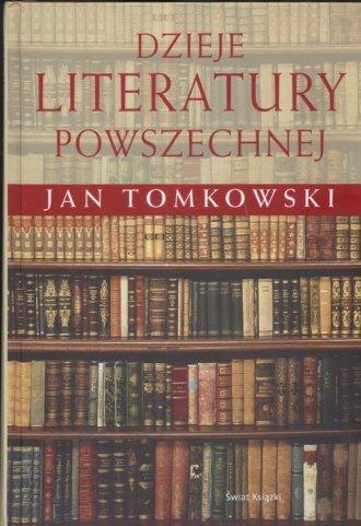 Dzieje literatury powszechnej - okładka książki