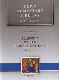 Ewangelia według św. Mateusza. - okładka książki