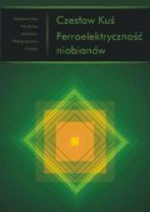 Ferroelektryczność niobianów - okładka książki