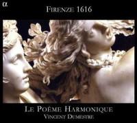 Firenze 1616 - Belli, Caccini, Saraccini - okładka płyty