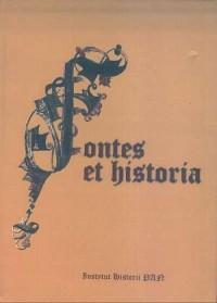Fontes et historia. Prace dedykowane Antoniemu Gąsiorowskiemu - okładka książki