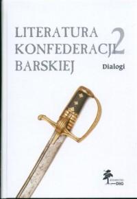 Literatura Konfederacji Barskiej. - okładka książki