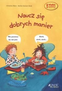 Naucz się dobrych manier - okładka książki