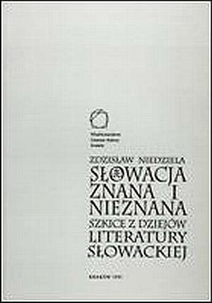 Słowacja znana i nieznana - okładka książki
