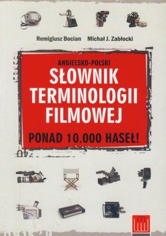 Słownik terminologii filmowej (ang.-pol.) - okładka książki