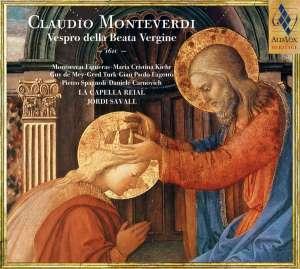 Vespro della Beata Vergine - okładka płyty
