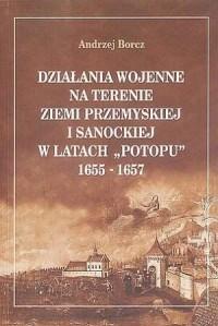 Działania wojenne na terenie ziemi - okładka książki