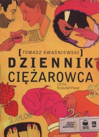 Dziennik ciężarowca. Czyta: Krzysztof - pudełko audiobooku