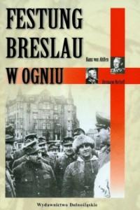 Festung Breslau w ogniu - okładka książki
