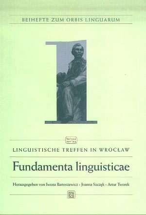 Fundamenta Linguisticae - okładka książki