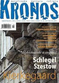 Kronos nr 12008. Kierkegaard - Wawrzyniec Rymkiewicz - okładka książki