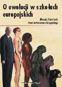 O ewolucji w szkołach europejskich - okładka książki