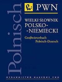 Wielki słownik polsko-niemiecki - okładka książki