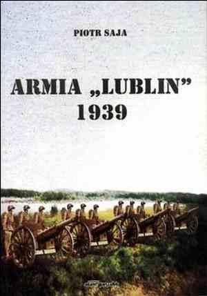 Armia Lublin 1939 - okładka książki