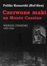 okładka książki - Czerwone maki na Monte Cassino.