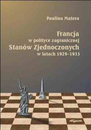 Francja - w polityce zagranicznej - okładka książki
