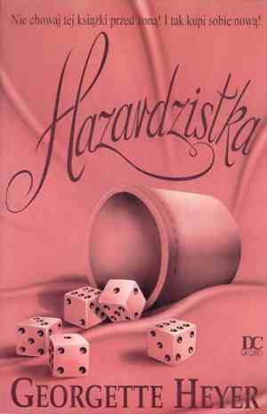 Hazardzistka - okładka książki