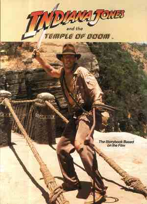 Indiana Jones and the Temple of - okładka książki
