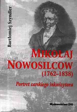 Mikołaj Nowosilcow (1762-1838). - okładka książki