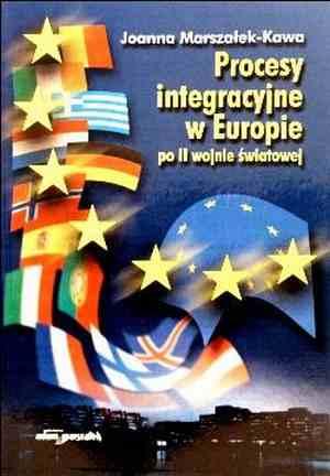 Procesy integracyjne w Europie - okładka książki