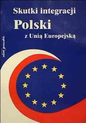 Skutki integracji Polski z Unią - okładka książki