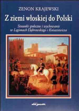 Z ziemi włoskiej do Polski. Stosunki - okładka książki