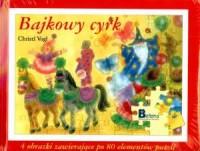 Bajkowy cyrk - puzzle - okładka książki