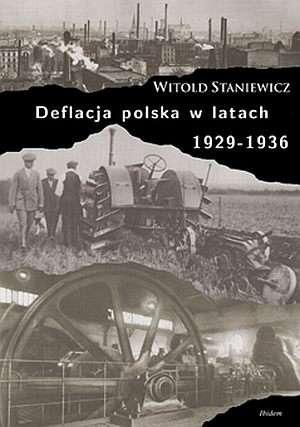 Deflacja polska w latach 1929-1936 - okładka książki