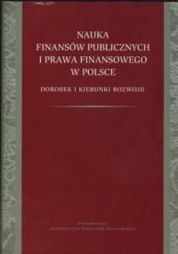 Nauka finansów publicznych i prawa - okładka książki