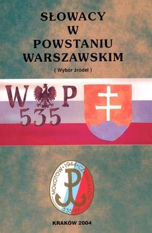 Słowacy w Powstaniu Warszawskim. - okładka książki