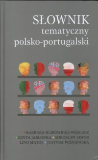 Słownik tematyczny polsko-portugalski - okładka książki