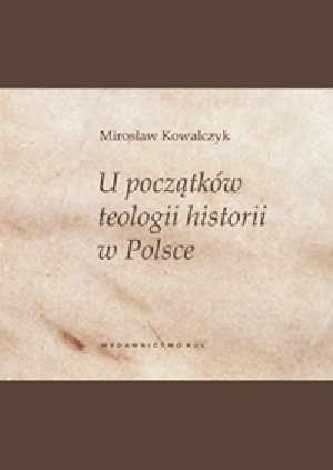 U początków teologii historii w - okładka książki