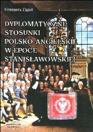 Dyplomatyczne stosunki polsko-angielskie - okładka książki