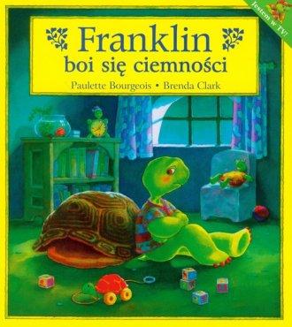 Franklin boi się ciemności - okładka książki