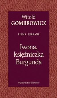 Iwona, księżniczka Burgunda - okładka książki