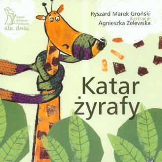 Katar żyrafy - okładka książki