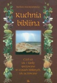 Kuchnia biblijna - okładka książki