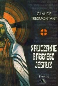 Nauczanie Rebbiego Jeshuy - okładka książki