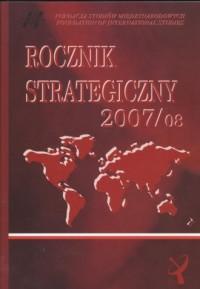 Rocznik strategiczny (2007/08) - okładka książki