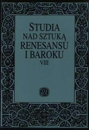 Studia nad sztuką renesansu i baroku. - okładka książki