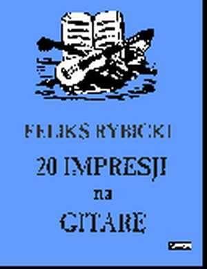 20 Impresji na Gitarę - okładka książki