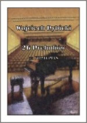 26 Preludiów na Fortepian - okładka książki