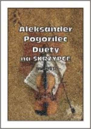 Duety na Skrzypce (na skrzypce). - okładka książki