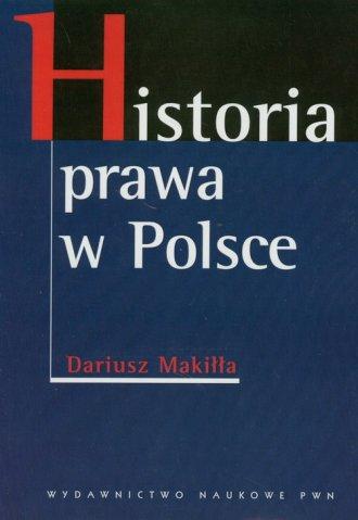 Historia prawa w Polsce - okładka książki