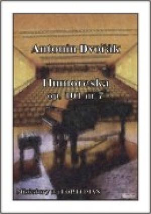 Humoreska (na fortepian) - okładka książki