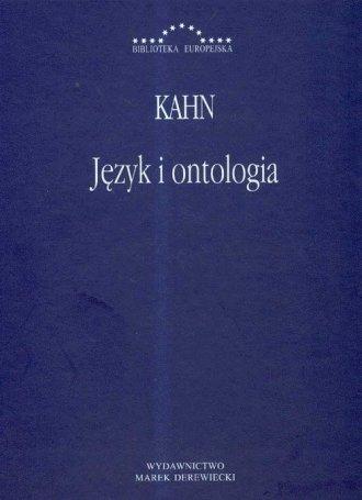 Język i ontologia. Seria: Biblioteka - okładka książki
