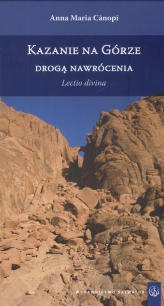 Kazanie na Górze drogą nawrócenia - okładka książki