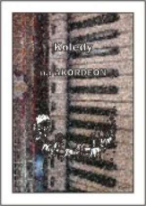 Kolędy na Akordeon - okładka książki